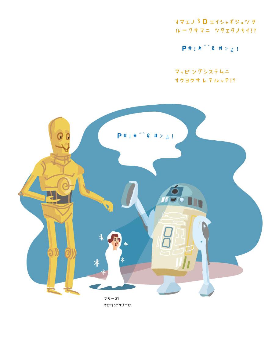 スターウォーズ R2D2 C3PO