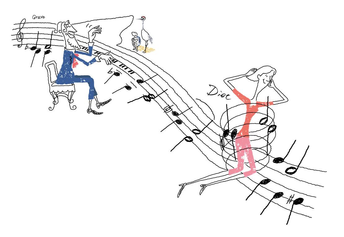 クラシックは長生きに、ダイエット効果が期待できます。