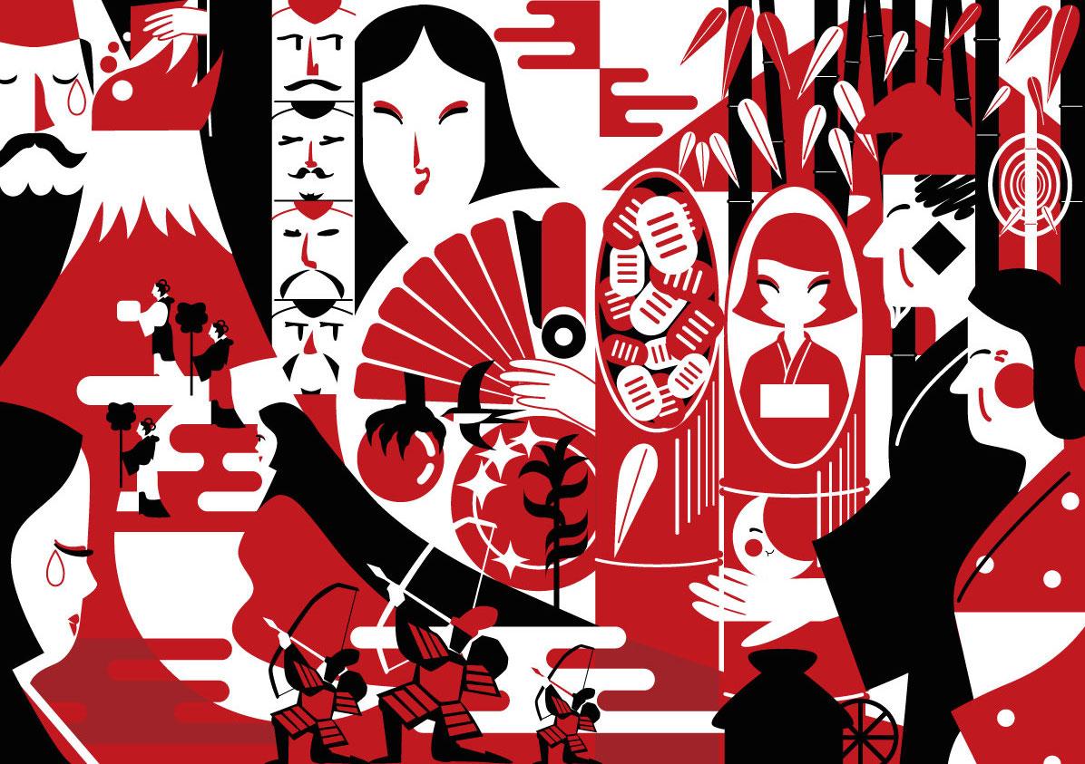 日本昔話「かぐや姫」